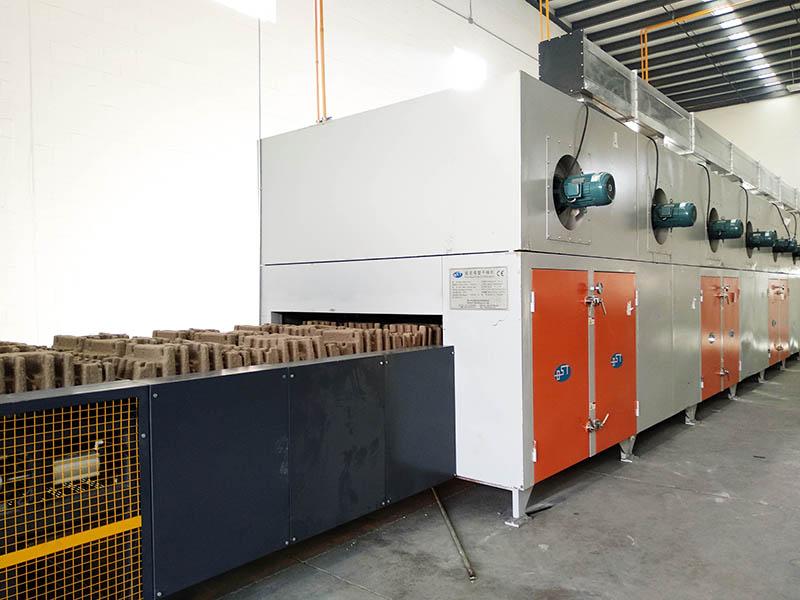Línea de producción de empque industrial en México